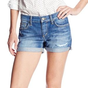 Joe's Jeans Rolled Short Samara Jean Shorts